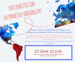"""Evento Presentazione Summer School """"Gino Gorla"""""""